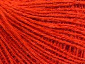 Fiber Content 50% Wool, 50% Acrylic, Brand ICE, Dark Orange, Yarn Thickness 2 Fine  Sport, Baby, fnt2-58304