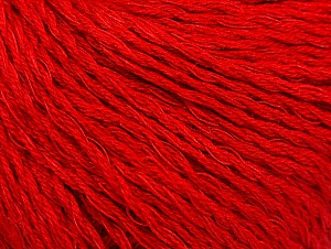 Fiber Content 40% Bamboo, 35% Cotton, 25% Linen, Red, Brand ICE, Yarn Thickness 2 Fine  Sport, Baby, fnt2-58473