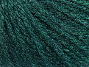 Fiber Content 60% Acrylic, 40% Wool, Teal Melange, Brand ICE, Yarn Thickness 6 SuperBulky  Bulky, Roving, fnt2-58575