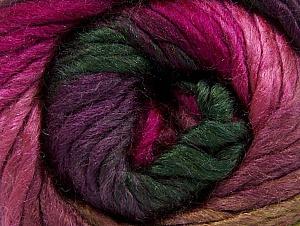 İçerik 50% Yün, 50% Akrilik, Purple, Pink, Brand ICE, Fuchsia, Dark Green, fnt2-58584