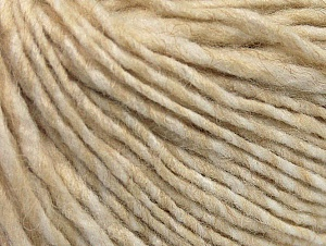 Fiber Content 55% Acrylic, 45% Wool, Brand ICE, Cream Shades, Yarn Thickness 4 Medium  Worsted, Afghan, Aran, fnt2-58590