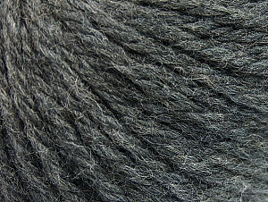 Fiber Content 60% Acrylic, 40% Wool, Brand ICE, Dark Grey, Yarn Thickness 6 SuperBulky  Bulky, Roving, fnt2-58682