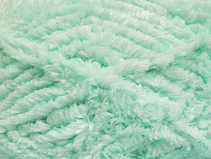 Fiber Content 100% Micro Fiber, Mint Green, Brand ICE, Yarn Thickness 6 SuperBulky  Bulky, Roving, fnt2-58826