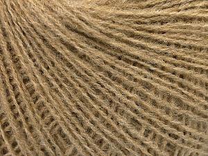 Fiber Content 50% Wool, 50% Acrylic, Brand ICE, Camel, Yarn Thickness 2 Fine  Sport, Baby, fnt2-58839