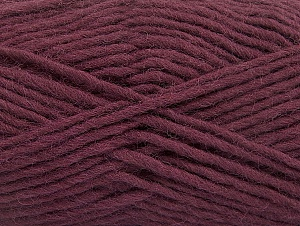 Fiber Content 100% Wool, Maroon, Brand ICE, Yarn Thickness 5 Bulky  Chunky, Craft, Rug, fnt2-58885