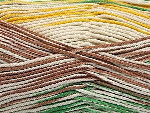 Fiber Content 100% Mercerised Cotton, Yellow, Brand ICE, Green, Camel, Beige, Yarn Thickness 2 Fine  Sport, Baby, fnt2-58987