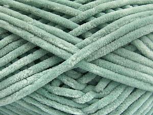 Fiber Content 100% Micro Fiber, Light Mint Green, Brand ICE, Yarn Thickness 4 Medium  Worsted, Afghan, Aran, fnt2-59063
