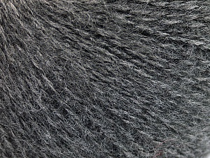 Fiber Content 55% Acrylic, 5% Polyester, 15% Alpaca, 15% Wool, 10% Viscose, Brand ICE, Grey, Yarn Thickness 2 Fine  Sport, Baby, fnt2-59204