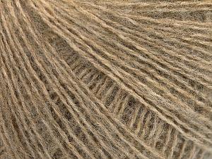 Fiber Content 55% Acrylic, 5% Polyester, 15% Alpaca, 15% Wool, 10% Viscose, Brand ICE, Beige, Yarn Thickness 2 Fine  Sport, Baby, fnt2-59207