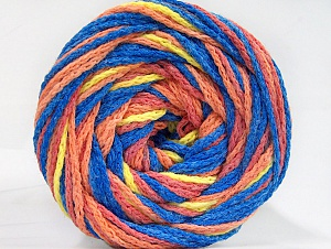 Fiber Content 50% Acrylic, 50% Polyamide, Yellow, Salmon Shades, Brand ICE, Blue, Yarn Thickness 5 Bulky  Chunky, Craft, Rug, fnt2-59361