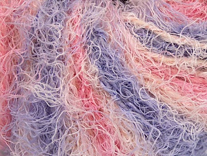 Fiber Content 40% Viscose, 30% Wool, 30% Polyamide, Pink, Lilac, Light Salmon, Brand ICE, Yarn Thickness 5 Bulky  Chunky, Craft, Rug, fnt2-59590