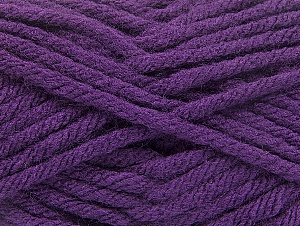 Fiber Content 100% Acrylic, Purple, Brand ICE, Yarn Thickness 6 SuperBulky  Bulky, Roving, fnt2-59738