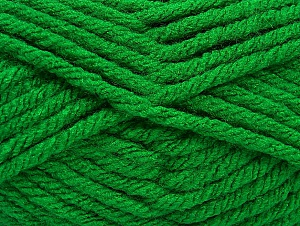 Fiber Content 100% Acrylic, Brand ICE, Green, Yarn Thickness 6 SuperBulky  Bulky, Roving, fnt2-59739