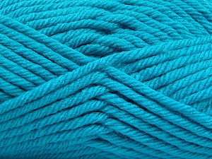 Fiber Content 100% Acrylic, Turquoise, Brand ICE, Yarn Thickness 6 SuperBulky  Bulky, Roving, fnt2-59745