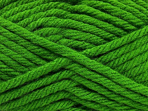 Fiber Content 100% Acrylic, Brand ICE, Green, Yarn Thickness 6 SuperBulky  Bulky, Roving, fnt2-59793
