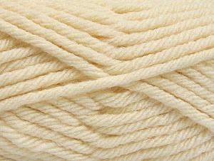 Fiber Content 100% Acrylic, Light Cream, Brand ICE, Yarn Thickness 6 SuperBulky  Bulky, Roving, fnt2-59999