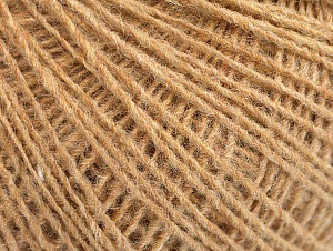 Fiber Content 50% Wool, 50% Acrylic, Brand ICE, Cafe Latte, Yarn Thickness 2 Fine  Sport, Baby, fnt2-60008