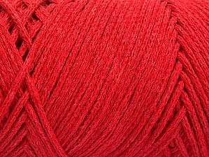 Fiber Content 100% Cotton, Red, Brand ICE, Yarn Thickness 5 Bulky  Chunky, Craft, Rug, fnt2-60156