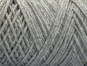 Fiber Content 100% Cotton, Light Grey, Brand ICE, Yarn Thickness 4 Medium  Worsted, Afghan, Aran, fnt2-60160