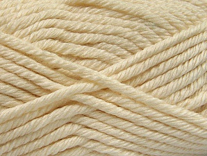 Fiber Content 100% Acrylic, Brand ICE, Cream, Yarn Thickness 6 SuperBulky  Bulky, Roving, fnt2-60214