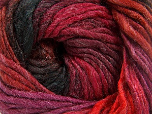 Fiber Content 50% Acrylic, 50% Wool, Red, Purple, Brand ICE, Dark Green, Copper, Yarn Thickness 5 Bulky  Chunky, Craft, Rug, fnt2-60248