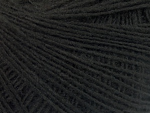 Fiber Content 100% Acrylic, Brand ICE, Black, Yarn Thickness 2 Fine  Sport, Baby, fnt2-60335