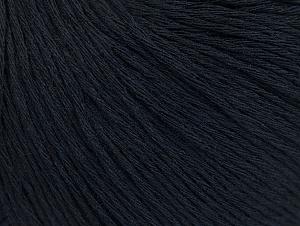 Fiber Content 100% Cotton, Brand ICE, Dark Navy, Yarn Thickness 1 SuperFine  Sock, Fingering, Baby, fnt2-60434