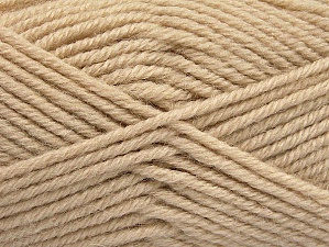 Fiber Content 50% Acrylic, 25% Alpaca, 25% Wool, Light Beige, Brand ICE, Yarn Thickness 5 Bulky  Chunky, Craft, Rug, fnt2-60857