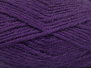 Fiber Content 50% Acrylic, 25% Wool, 25% Alpaca, Purple, Brand ICE, Yarn Thickness 5 Bulky  Chunky, Craft, Rug, fnt2-60863