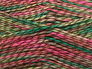 Fiber Content 100% Premium Acrylic, Pink Shades, Brand ICE, Green Shades, Camel, Yarn Thickness 2 Fine  Sport, Baby, fnt2-60947