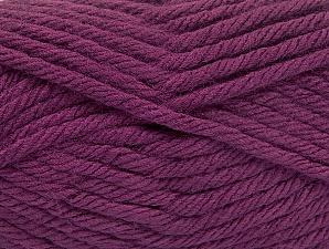 Fiber Content 100% Acrylic, Purple, Brand ICE, Yarn Thickness 6 SuperBulky  Bulky, Roving, fnt2-61091