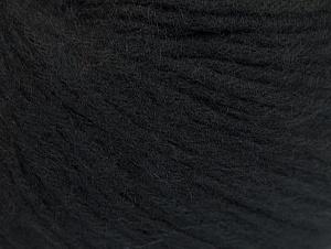 Fiber Content 85% Acrylic, 15% Bamboo, Brand ICE, Black, Yarn Thickness 4 Medium  Worsted, Afghan, Aran, fnt2-61092