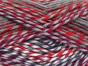 Fiber Content 100% Premium Acrylic, Red, Purple, Maroon, Brand ICE, Grey, Yarn Thickness 4 Medium  Worsted, Afghan, Aran, fnt2-61109