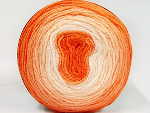 Fiber Content 100% Premium Acrylic, Orange Shades, Brand ICE, Yarn Thickness 2 Fine  Sport, Baby, fnt2-61148