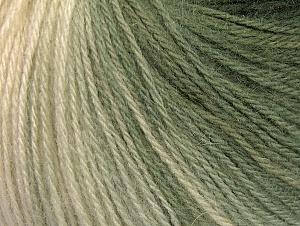 Fiber Content 60% Acrylic, 20% Wool, 20% Angora, Brand ICE, Grey Shades, Cream, Yarn Thickness 2 Fine  Sport, Baby, fnt2-61192