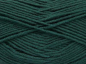 Fiber Content 100% Acrylic, Brand ICE, Dark Green, Yarn Thickness 4 Medium  Worsted, Afghan, Aran, fnt2-61283