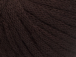 Fiber Content 50% Wool, 50% Acrylic, Brand ICE, Brown, Yarn Thickness 4 Medium  Worsted, Afghan, Aran, fnt2-61748
