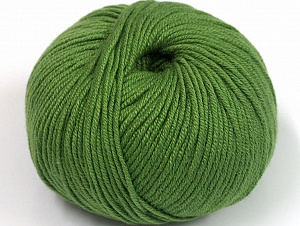 Fiber Content 50% Cotton, 50% Acrylic, Brand ICE, Forest Green, fnt2-62388