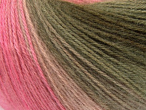 İçerik 60% Akrilik, 20% Angora, 20% Yün, White, Pink Shades, Brand ICE, Grey, Brown, Yarn Thickness 2 Fine  Sport, Baby, fnt2-62540