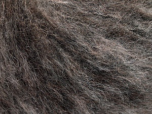 Fiber Content 30% Acrylic, 30% Polyamide, 20% Alpaca, 20% Wool, Brand ICE, Brown Shades, fnt2-62546
