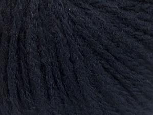 Fiber Content 50% Wool, 50% Acrylic, Brand ICE, Dark Navy, fnt2-62631
