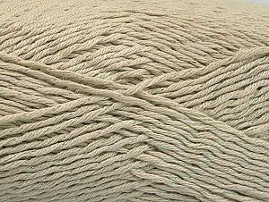 Fiber Content 49% Premium Acrylic, 49% Cotton, 2% Metallic Lurex, Brand ICE, Ecru, fnt2-62885