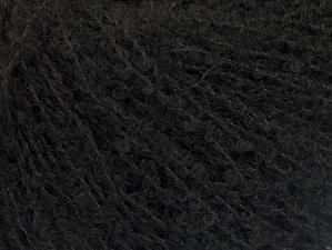 Fiber Content 25% Acrylic, 25% Wool, 25% Polyamide, 25% Alpaca, Brand ICE, Black, fnt2-62954