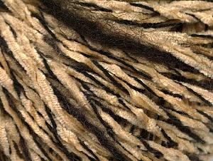 Fiber Content 85% Acrylic, 15% Wool, Brand ICE, Dark Brown, Cafe Latte, Black, fnt2-62964
