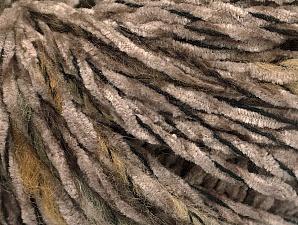 Fiber Content 85% Acrylic, 15% Wool, Brand ICE, Camel, Brown Shades, Black, fnt2-62965