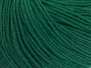 Fiber Content 60% Cotton, 40% Acrylic, Brand ICE, Dark Green, fnt2-63002