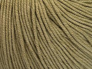 Fiber Content 60% Cotton, 40% Acrylic, Light Khaki, Brand ICE, fnt2-63018