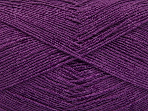 İçerik 55% Pamuk, 45% Akrilik, Purple, Brand ICE, Yarn Thickness 1 SuperFine  Sock, Fingering, Baby, fnt2-63113