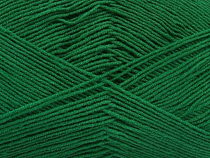 İçerik 55% Pamuk, 45% Akrilik, Brand ICE, Dark Green, Yarn Thickness 1 SuperFine  Sock, Fingering, Baby, fnt2-63114