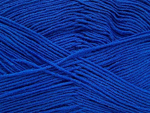 İçerik 55% Pamuk, 45% Akrilik, Brand ICE, Blue, Yarn Thickness 1 SuperFine  Sock, Fingering, Baby, fnt2-63115